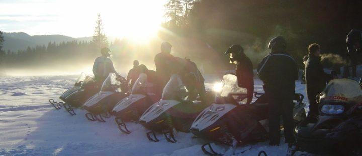 Skutery śnieżne na Gubałówce